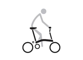 Brompton M Type Riding Position