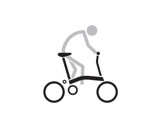 Brompton S Type Riding Position