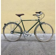 Linus Used Linus Roadster Sport city bike, 3-speed, diamond frame olive 48cm/26