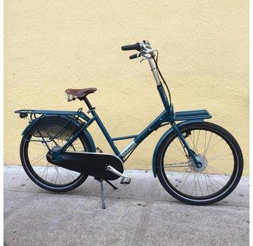 WorkCycles WorkCycles Fr8 city bike, universal frame, Nuvinci ocean blue black tire
