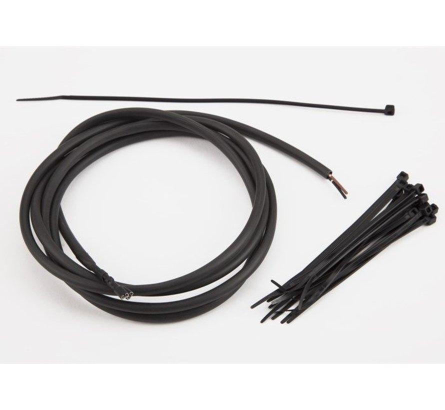 Brompton Hub Dynamo Wiring Loom for LED Lights - QVDWLOOM-HDYN-LED