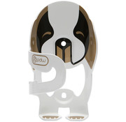 PDW PDW Very Good Dog Water Bottle Cage, White