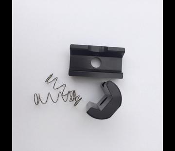 Ti Parts Workshop TPW Brompton - Hinge clamp plate, black