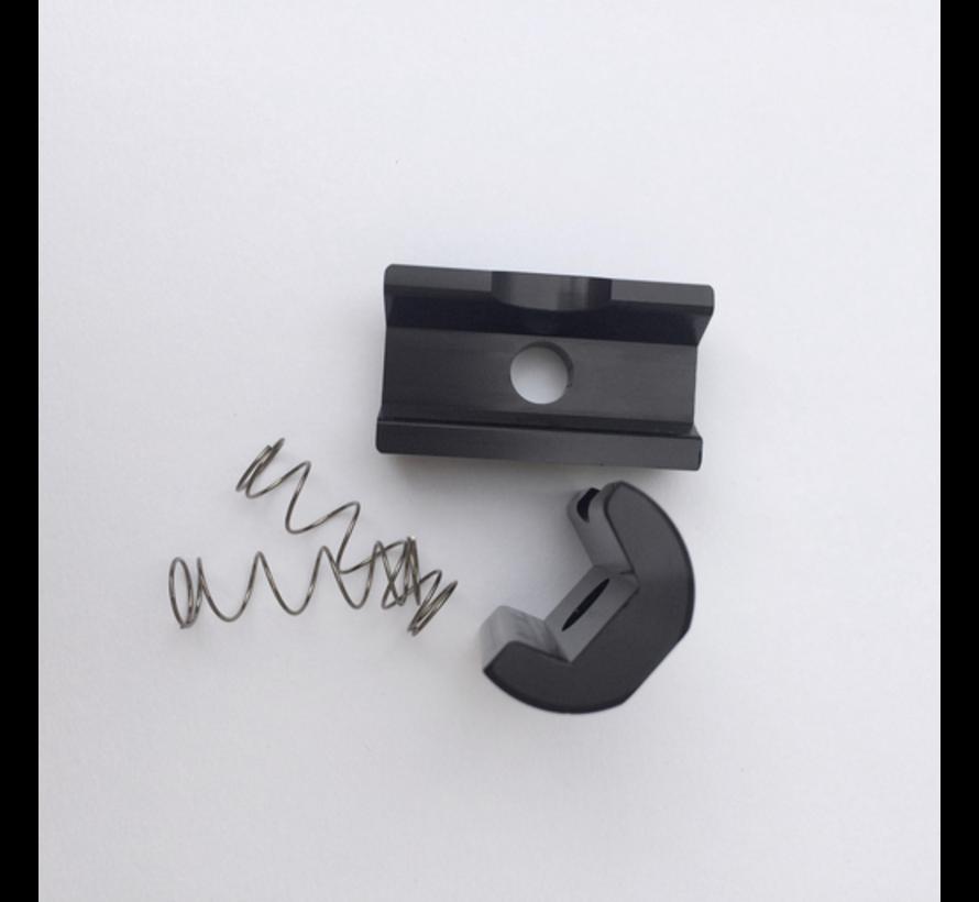 TPW Brompton - Hinge clamp plate, black