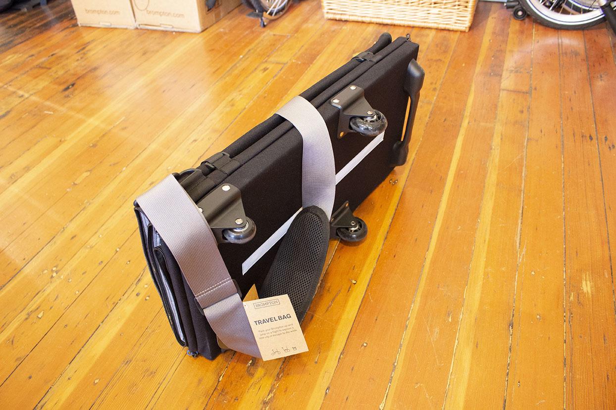 Brompton Travel Bag, folded