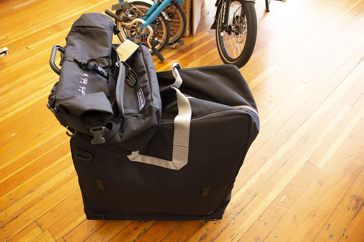 Brompton Travel Bag with Brompton T Bag
