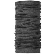Buff Lightweight Merino Wool Neck Gaiter, Gray