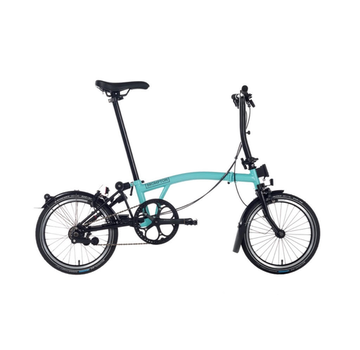 Brompton S6L Black Edition Brompton, Turkish Green, Dyno