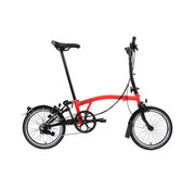 Brompton M6L Black Edition Brompton, Rocket Red