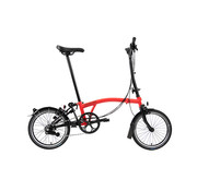 Brompton H6L Black Edition Brompton, Rocket Red
