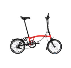 Brompton Brompton H6L Black Edition, Rocket Red