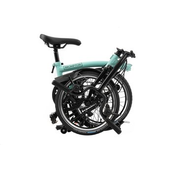 Brompton M6L Black Edition Brompton, Turkish Green