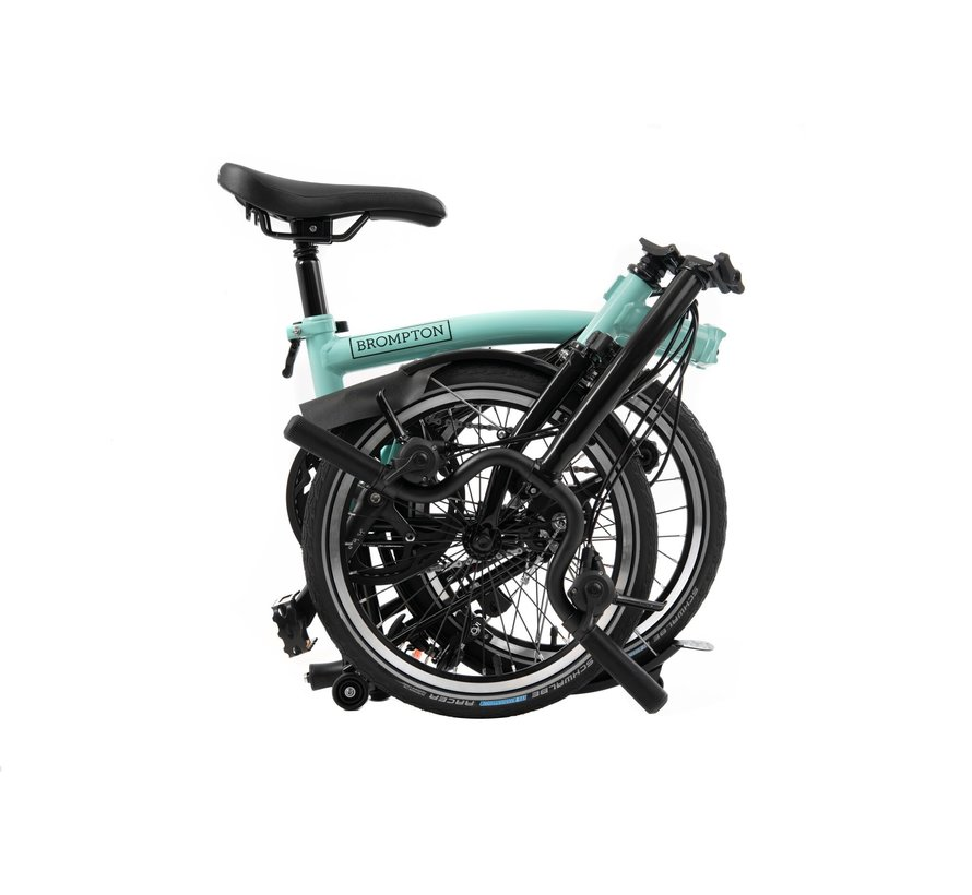 M6L Black Edition Brompton, Turkish Green
