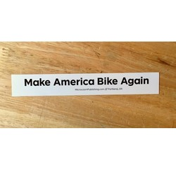 Make America Bike Again Sticker