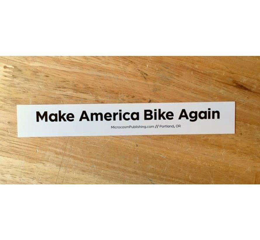 Make America Bike Again Sticker