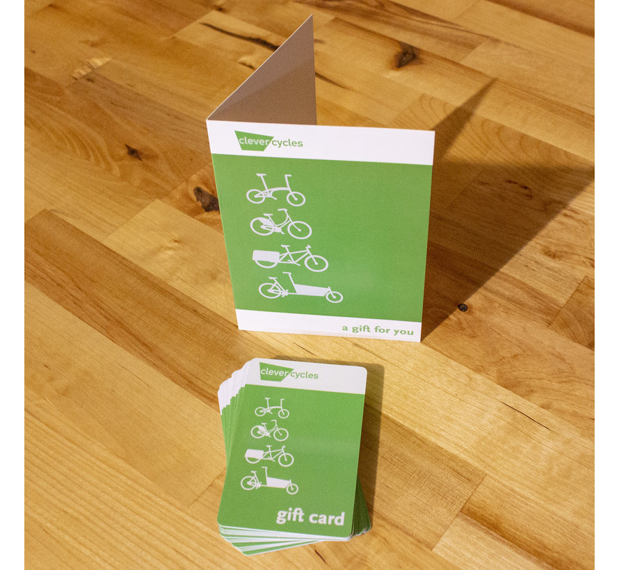 Clever Cycles Gift Card