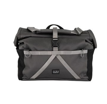Brompton Brompton Borough Roll Top Bag, Grey