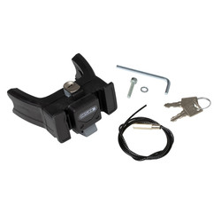 Ortlieb Handlebar Mounting Set for E Bike with key