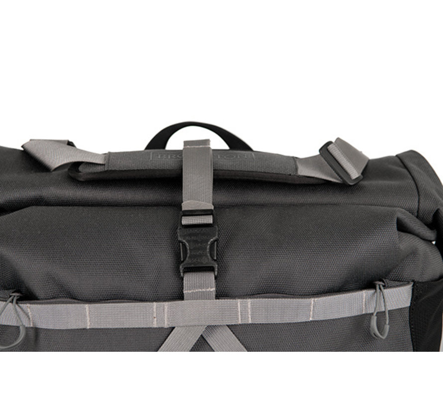Brompton Borough Roll Top Bag L, Grey