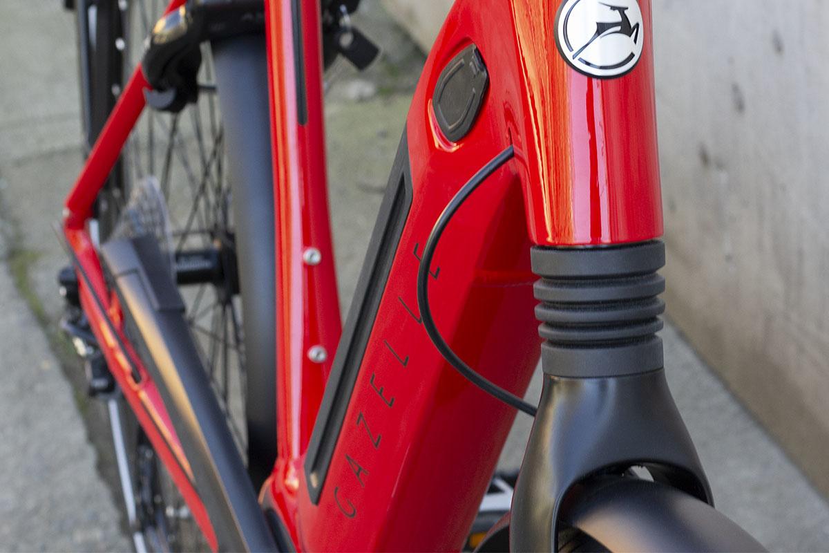 Ebike front suspension