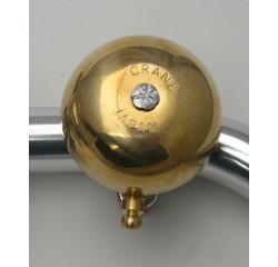 Crane Crane Karen Spring Strike Bell, Brass