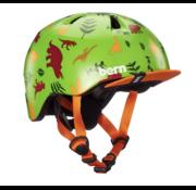 BERN Bern Tigre helmet, XXS, Dinosaurs