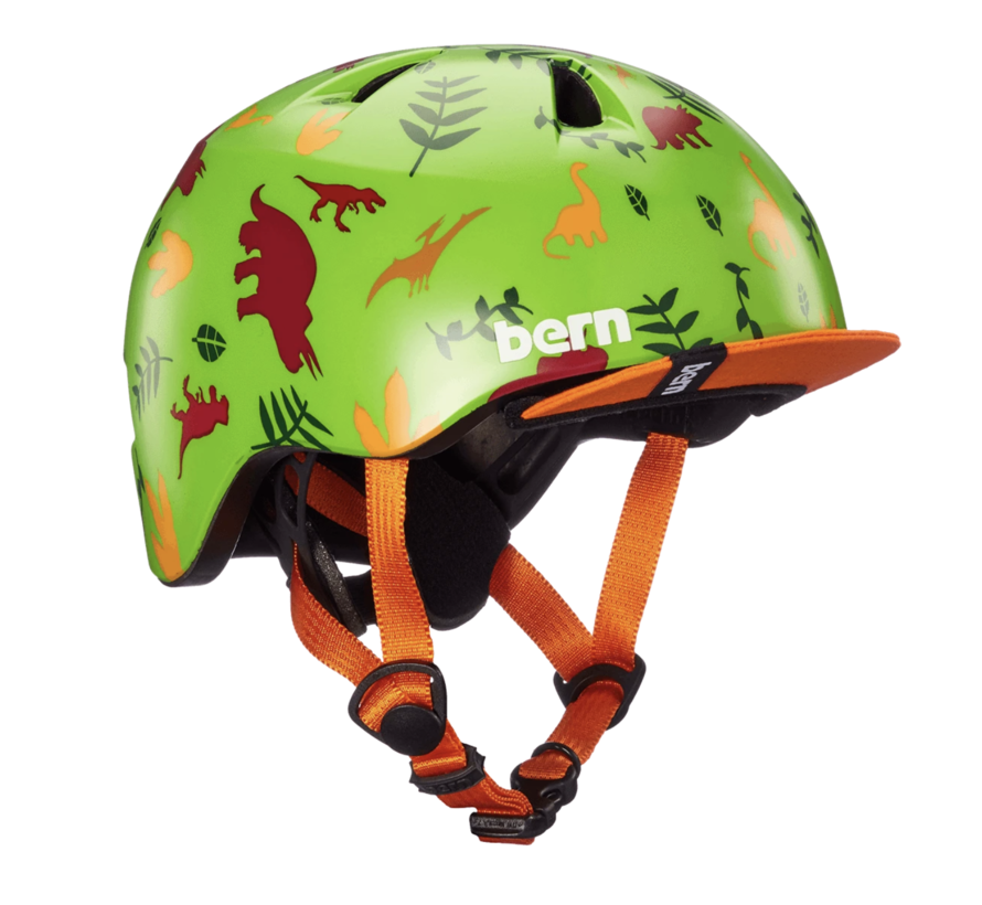Bern Tigre helmet, XXS, Dinosaurs