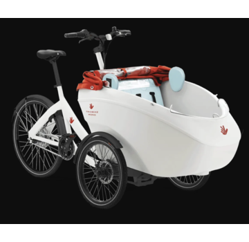 Triobike Triobike Mono Cargo Trike Brose Mid Drive Shimano 8