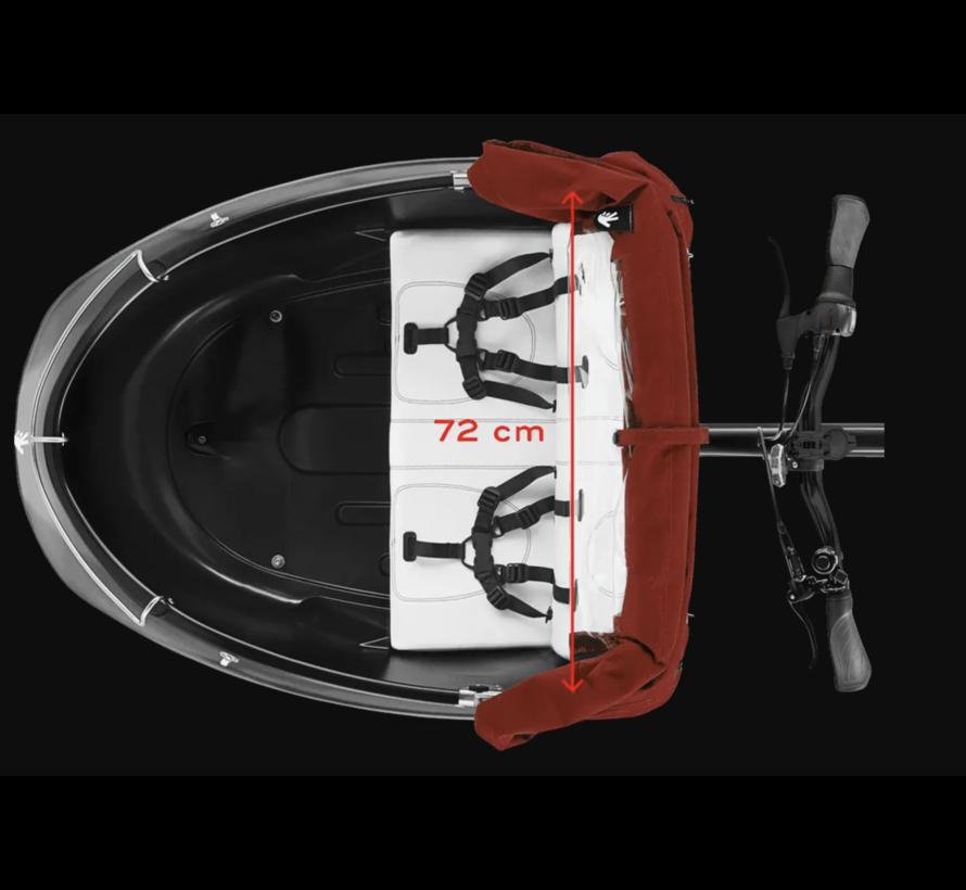 Triobike Mono Cargo Trike Brose Mid Drive Shimano 8