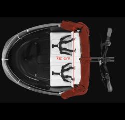 Triobike Triobike Seat & Side Cushions for Triobike Mono Cargo Trike