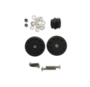 Brompton Brompton Eazy Wheel Rollers With Fittings for Version L or E Pair - QEZWSET-LE