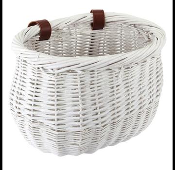 Sunlite Willow bike basket, child's size, white