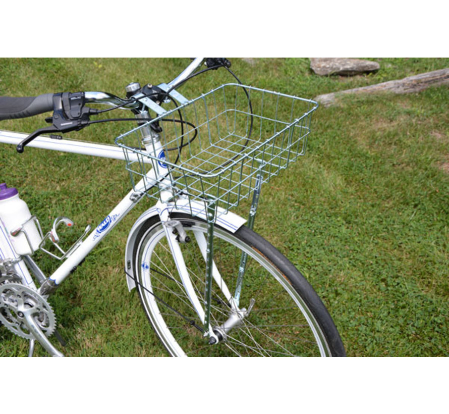 Wald 1372 Front Basket, Silver, Multi-Fit