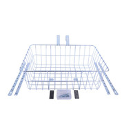 Wald Wald 1392 Front Basket, Silver, Multi-Fit