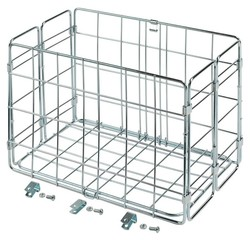 Wald Wald 582 Rear Folding Basket, Chrome