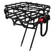 Front Porteur Basket Rack 26-29 Black
