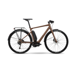 BMC BMC Alpenchallenge AMP AL CITY Electric Bike, Brown