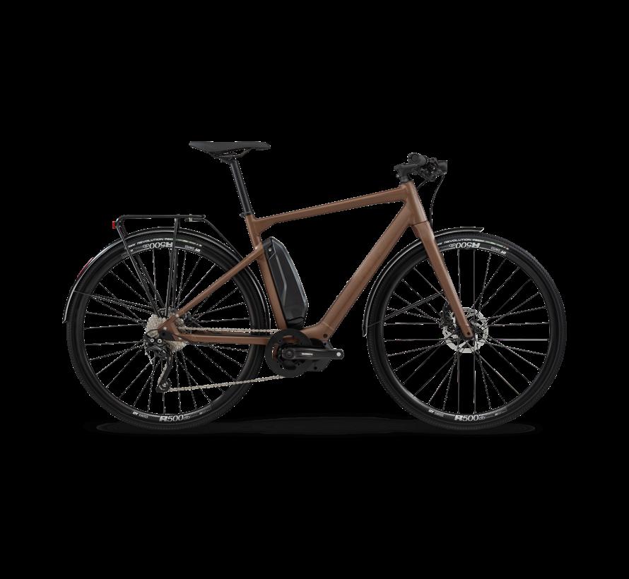 BMC Alpenchallenge AMP AL CITY Electric Bike, Brown