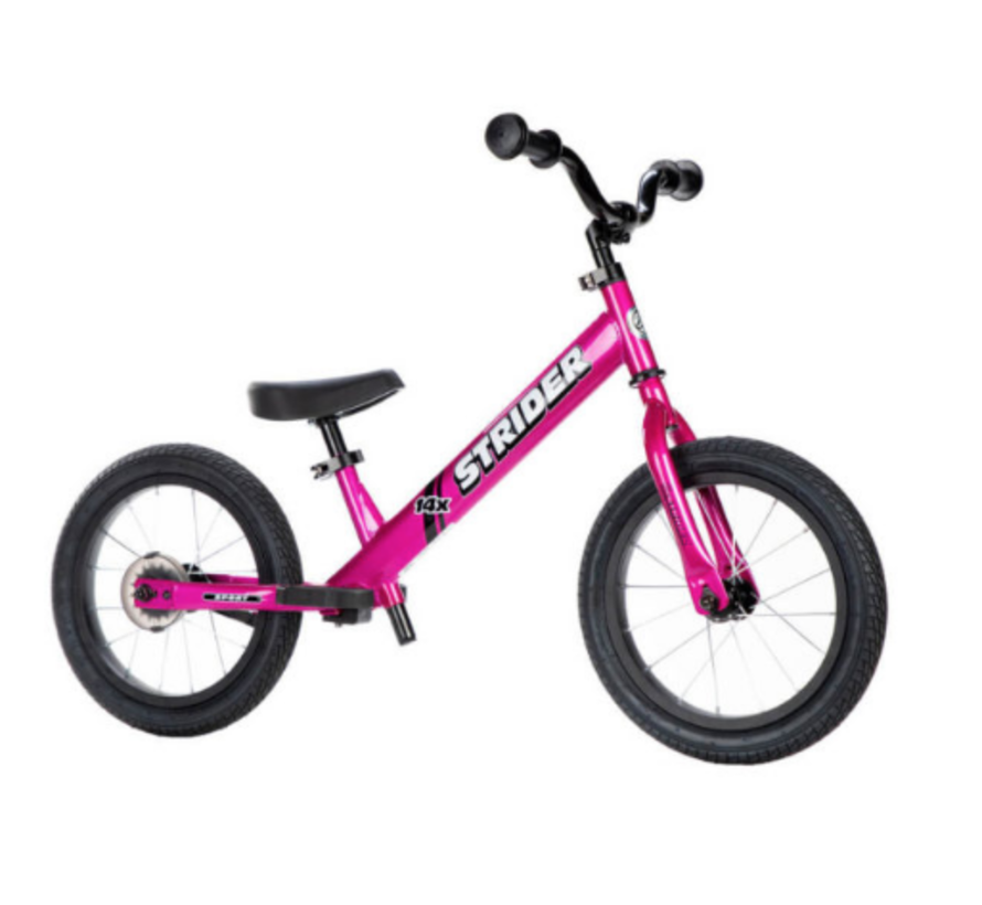 Strider 14x Sport Balance Bike with Pedal Kit