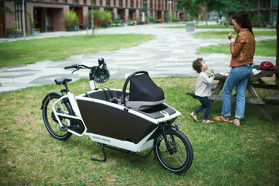 Urban Arrow Family with infant seat