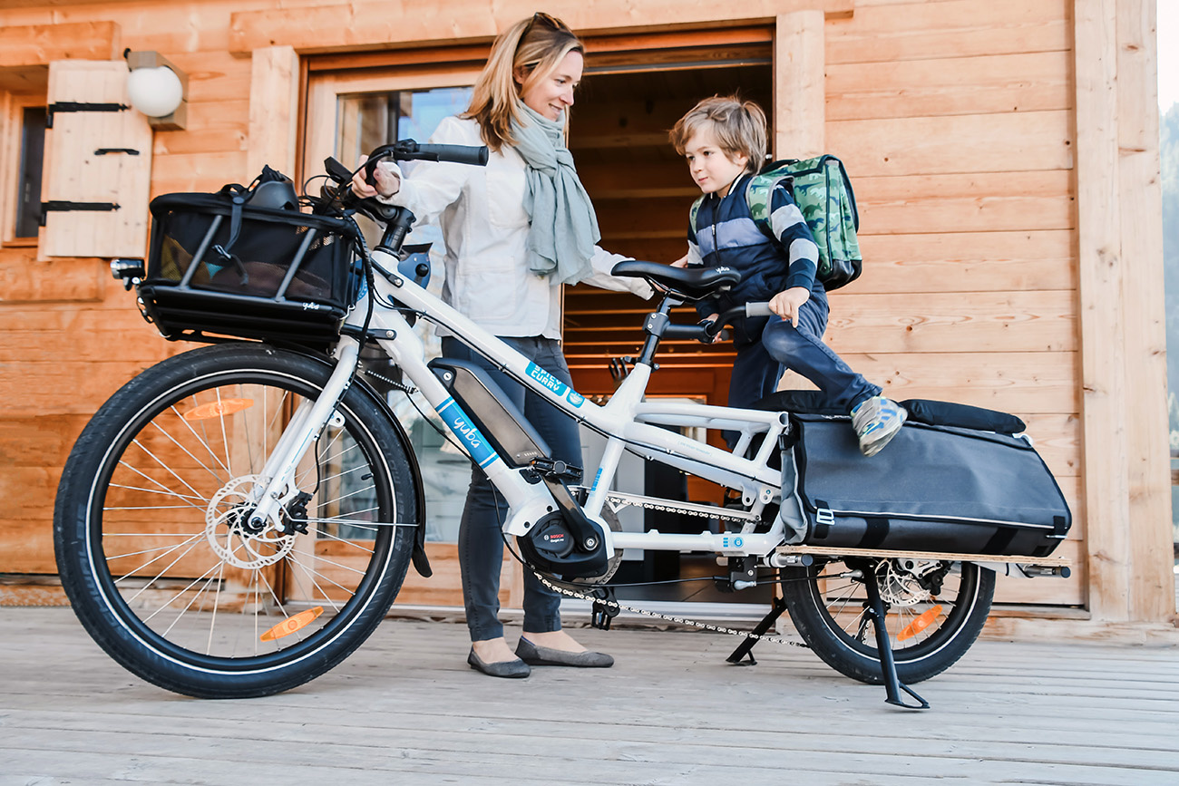 Yuba Spicy Curry electric cargo bike