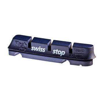 SwissStop Swiss Stop, FlashPro, Caliper brake pad inserts for alloy rims, Shimano, BXP, Pack of 4
