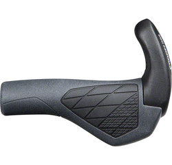 Ergon Ergon GS2 Grips - Black/Gray, Lock-On, Small