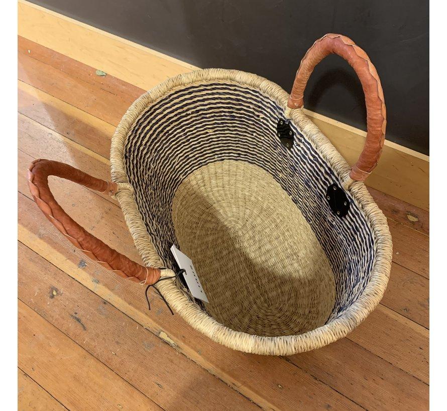 Linus Bolga Woven Rear Basket