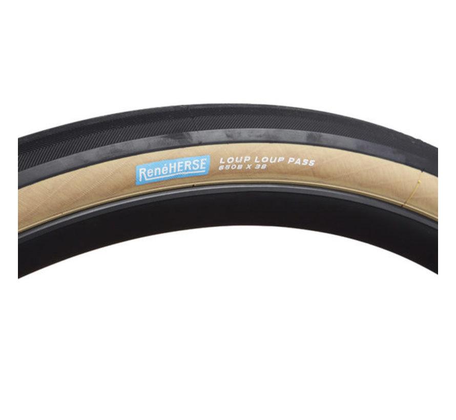 Rene Herse Loup Loup Pass Tire, 584-38, 650 x 38B