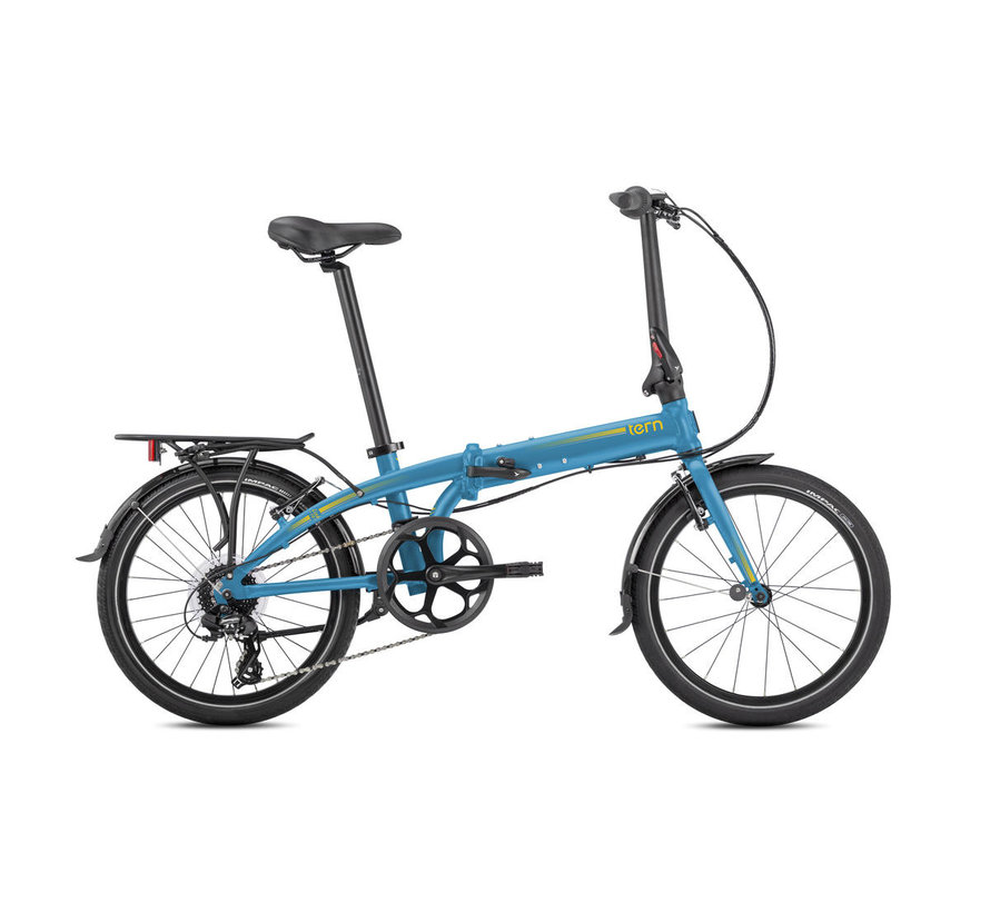 Tern Link C8 Folding Bike Blue