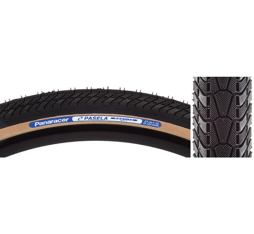 Panaracer Pasela Protite Tire 650B x 1.75 Folding Bead Gum Sidewall