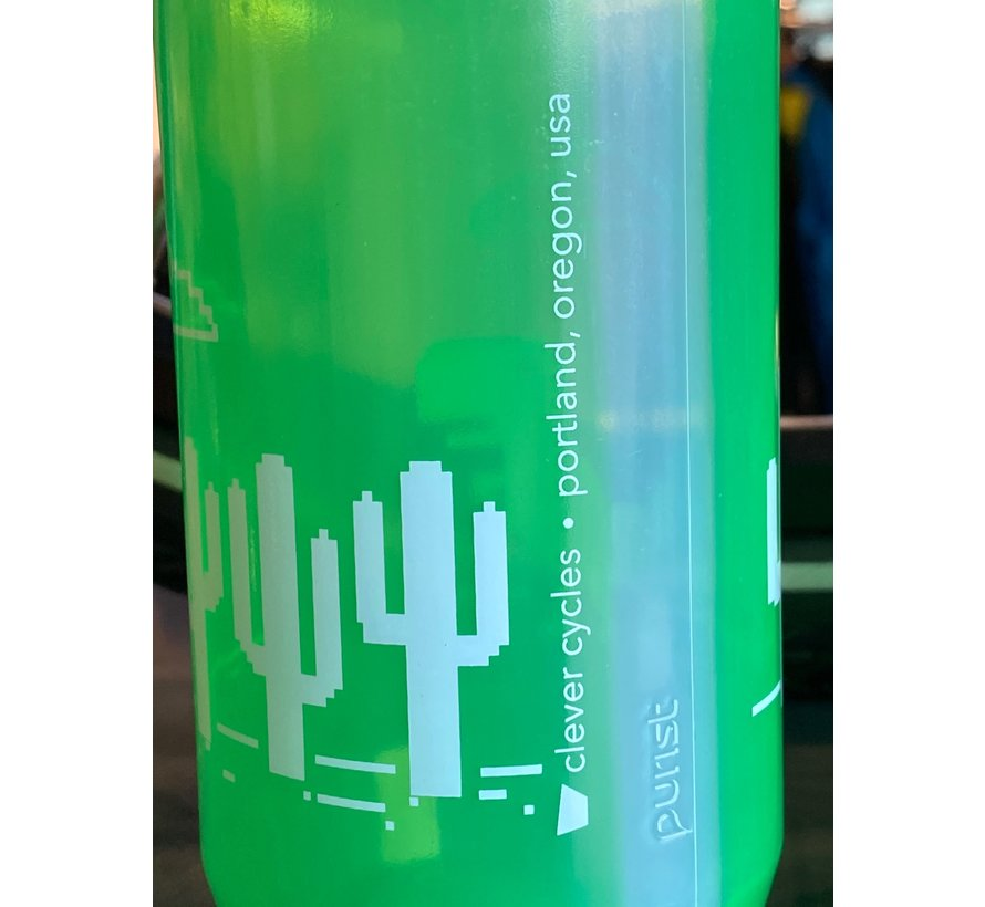 Clever Cycles Dinosaur Purist Water Bottle