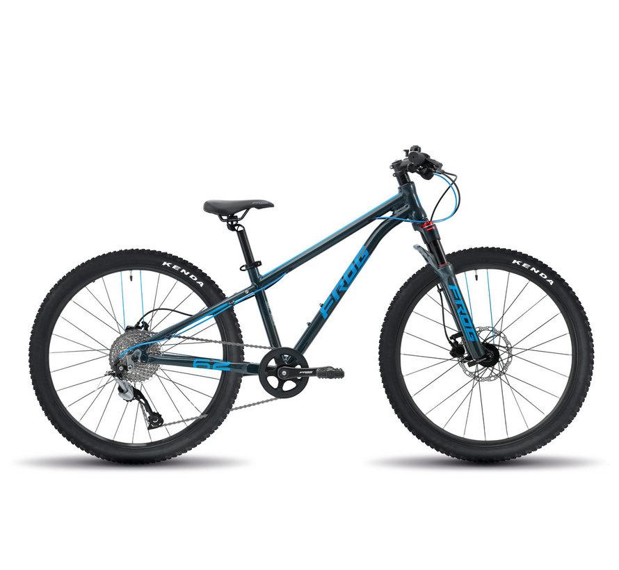 Frog 62 Kids Mountain Bike, blue/grey
