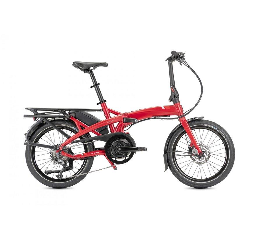 Tern Vektron Q9 Electric Folding Bike Red